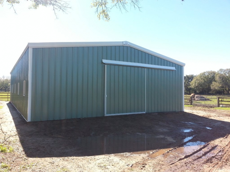 Front of New Barn