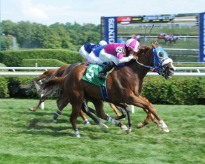 Ecstatic Miss - First Win at Saratoga